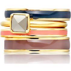 Astley Clarke Color Square Sonatina Pyrite Ring