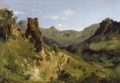 Théodore Rousseau - Vallée dans les montagnes d'Auvergne