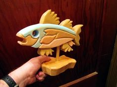 Scroll Saw segmentaion Fish woodworking project (no cost) video tutorial by Christopher Demetrick on youtube.com http://youtu.be/nQ-L85PnFwQ #scrollsawpatternsandprojects #freepatternsforwoodworking #woodworkingtutorial