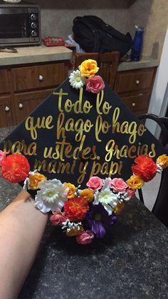 Mexican girl graduation cap | grad NCC | Pinterest | Blue ...