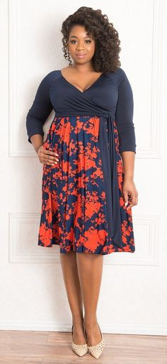 Plus Size Dress - Welcome Back Igigi - alexawebb.com