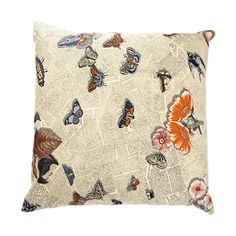 Fornasetti Butterflies Pillow