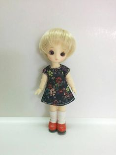 CREATABLE WORLD ~ TOP ~ YELLOW FLORAL SHORT SLEEVE SHIRT DOLL ACCESSORY CLOTHING