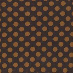 Michael Miller Ta Dot Cotton Interlock Knit Fabric in Brown. $11.00, via Etsy.