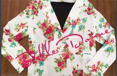 Belle Donne blazer floral print