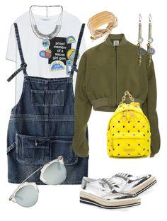 """Good Mood"" by carla1509 on Polyvore featuring moda, Zara, Prada, Chicnova Fashion, Rosie Assoulin, Moschino, Lucky Brand y Christian Dior"