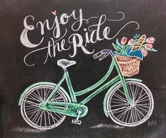 Be happy, be mindful, be motivated, and enjoy the ride!