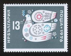 Stefan Kanchev | New Year, 1976 Stamp