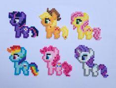 My Little Pony bead sprite set  Friendship by SillyBillyBullcrap