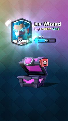 Legendary Ice Wizard in Clash Royale.