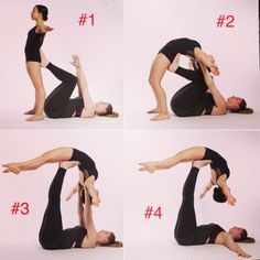Two Person Yoga Poses, Two People Yoga Poses, Couples Yoga Poses, Acro Yoga Poses, Yoga Poses For Two, Yoga Poses For Beginners, Partner Stretches, Partner Yoga Poses, Sport Fitness