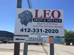 #Aluminum is a #durable #sign material that can be used in many different ways!  #Pittsburgh