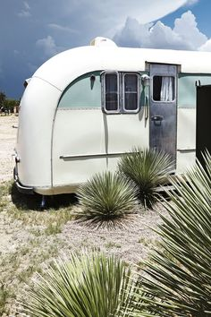 Trailer at El Cosmico in Marfa, Texas. Photo by: John Huba- Texas Travel Destinations Texas Roadtrip, Texas Travel, Road Trip Destinations, Vacation Trips, Desert Aesthetic, Marfa Texas, Texas Usa, Visit Texas, Texas Photography