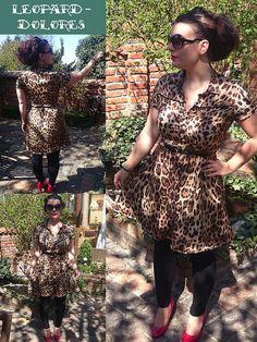 Dolores Milchmonster Leopard genäht LeoLilie   Flickr - Photo Sharing!