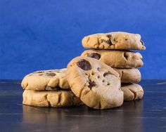 These g-free mocha milk chocolate shortbread cookies are perfect with your morning coffee.
