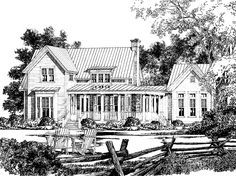 Eplans Country House Plan - Westbury Park from The Southern Living