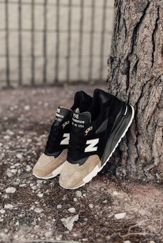 "Premier x New Balance 998 ""PRMR"" www. Moda Sneakers, Sneakers Mode, Dress With Sneakers, Best Sneakers, Shoes Sneakers, Sneakers Style, Kicks Shoes, Black Sneakers, Shoes Men"