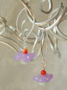Whimsy Flower Earrings  -SOLD-
