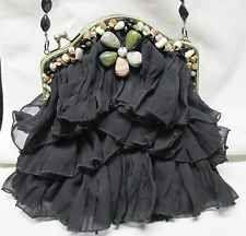 Relic Canvas Shoulder Bags for Women Mary Frances Purses, Mary Frances Handbags, Carpet Bag, Embroidered Bag, Denim Bag, Canvas Shoulder Bag, Vintage Handbags, Handmade Bags, Skirt Fashion