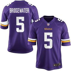 Teddy Bridgewater Minnesota Vikings Jersey Size Youth XL 8776eb78d41fc