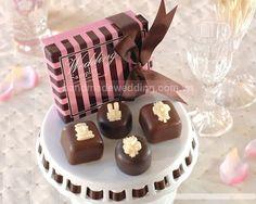 Nến thơm trang trí hình socola