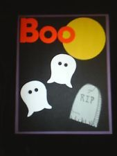 Stampin Up Halloween BOO set of 7 CARD KIT no reserve