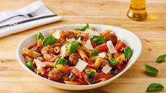 Navštívte stránku Kuchyňa Lidla a vyskúšajte naše tipy na chutné cestoviny! Napríklad recept Romana Paulusa na penne s baklažánom, paradajkami a parmezánom!
