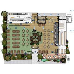 Image result for famous restaurant layout plan