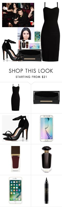 """Selena Gomez Award Show 2016 Get The look"" by ludyabelieveinme ❤ liked on Polyvore featuring MaxMara, Jimmy Choo, Boohoo, Tom Ford, Victoria's Secret and MAC Cosmetics"