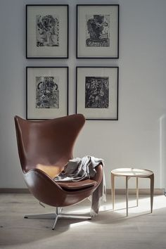 Fall in love with one of Fritz Hansen's many designer lounge chairs. Explore the whole Fritz Hansen lounge chair collection here. Arne Jacobsen, Fritz Hansen, Nordic Design, Scandinavian Design, Hygge, Chair Design, Furniture Design, Cheap Adirondack Chairs, Ideas