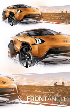 Personal Project - Nissan Vulkano ConceptExtremely radical, Nissan Vulkan is a 2 + 2 concept created for middle age people who loves nature and adventure sports. Very aggressive and strong, it was inspired by volcanos and rough surfaces, contrasting wit…