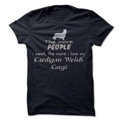The More I Love My Cardigan Welsh Corgi T-Shirts, Hoodies (19$ ==► Shopping Now to order this Shirt!)