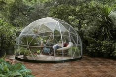 This @Lapadd Greenhouse Garden Igloo would be the perfect addition to your #landscape #design client's yard. It is a great way to enjoy the lovely outdoors while staying protected from the weather. #conservatorygreenhouse #greenhousegardening