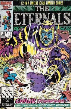 The Eternals # 12 Marvel Comics Maxi Series