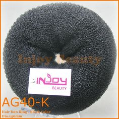 1pc Free Shipping Manufacture 3-Color Fashion Beauty Donut Hair Styling Maker Hair Roller Hair bun Ring