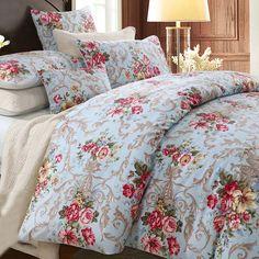 Elegant Floral Banquet Duvet Cover Set on Sale!