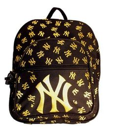 MLB New York Yankees Pebbles Backpack, Medium, Blk/Gold by Concept 1. $6.21. Quilted logo. Padded back. Padded shoulder straps. The Pebble backpack is a great bag for any sports fan.  Carry it to work, on the weekend or gameday.. Save 65%!