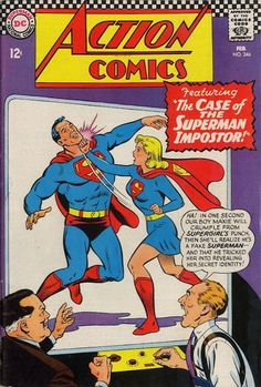 Will the real Supergirl please slug the fake Superman hard enough so that he'll forget any secrets he learned?