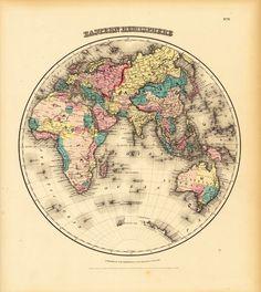 Alte Landkarten (Nr. 15646) • Historische Landkarten • Wissenschaft • Bildgalerie • Berlintapete • Individuelle Produktion von Fototapeten - Wallpaper on Demand - Designtapeten - Pictures & more