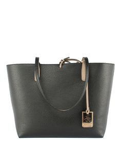 Black+&+mink+shoulder+bag+by+Beverly+Hills+Polo+Club+on+secretsales.com