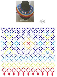 Diy Necklace Patterns, Beaded Jewelry Patterns, Beading Patterns Free, Beading Tutorials, Seed Bead Jewelry, Jewelry Making Beads, Seed Bead Projects, Beading Techniques, Beaded Collar
