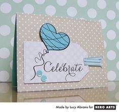 Hero Arts Cardmaking Idea: Celebrate