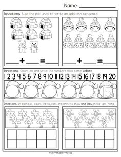 January morning work for Kindergarten. 40 pages of literacy and math activities. Directions stay the same for the whole week so students become familiar with activities and work independently.