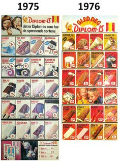 Fra Pommac til Plattfot-isen: Husker du hva som var din favoritt fra barndommen?   Buzzit.no Baseball Cards, Vintage, Poster, Vintage Comics