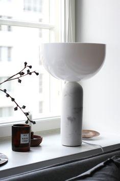 Kizu table lamp by Newworks // RAW Design blog