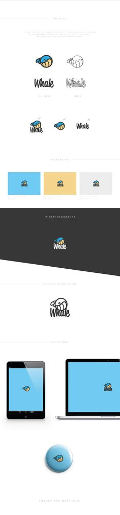 This was a personal project that I decided to create because I wanted to work more in this style , and because I wanted to create something to do with water. I love the sea life and animals so I wanted to create something in this genre. I Want To Work, Branding Ideas, Slc, Whale, Behance, Create, Life, Whales