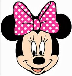 7 Best Images of Minnie Mouse Face Template Printable - Mickey and Minnie Mouse Head Outline, Minnie Mouse Face Template and Minnie Mouse Printable Template Mickey Minnie Mouse, Minnie Mouse Template, Mickey Mouse Imagenes, Disney Mickey, Minnie Mouse Clipart, Walt Disney, Minnie Baby, Pink Minnie, Disney Theme