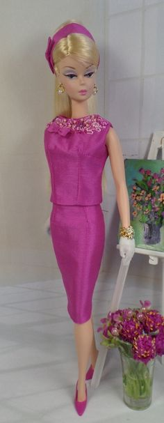 "Adoria for Silkstone Barbie and Victoire Roux by MatisseFashions ""if you like my pins, you will love my shoes!"""
