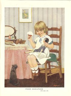 1920s book illustration by Topham, via Etsy.