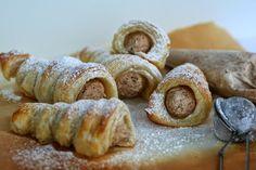 Baking of. Doughnut, Sausage, Garlic, Baking, Vegetables, Desserts, Food, Tailgate Desserts, Deserts